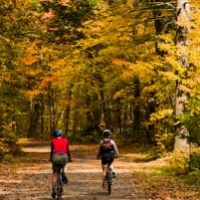 Bicycle touring in New England