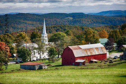 The Peacham view as I call it is the Church and barn in Peacham Vermont. I've been photographing it for some years now and this view seems to be one of the more pleasing ones.