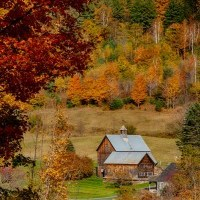 Vermont foliage locations