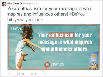 content marketing tips Kim Garst