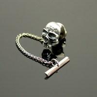 Tie Pin - Vampire Skull