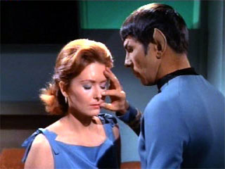 Vulcan mind meld - star trek