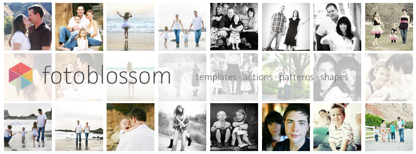 Facebook Timeline Cover Photoshop Actions  Templates - facebook collage template