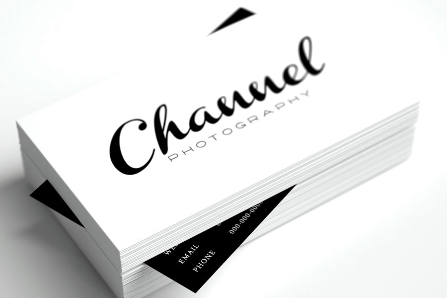 13 Free Business Card Templates for Photographers - card templates for pographers