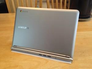 Samsung Chromebook Rear