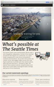 The Seattle Times jobs