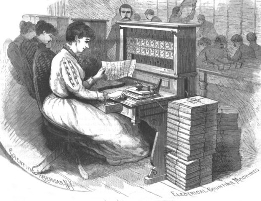 1890_Census_Hollerith_Electrical_Counting_Machines_Sci_Amer