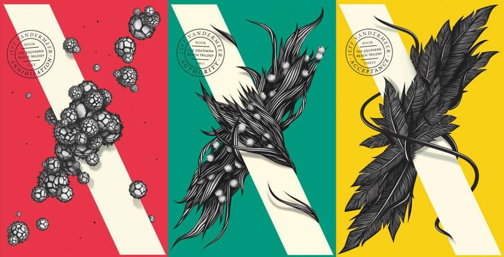 Southern Reach--paperback covers