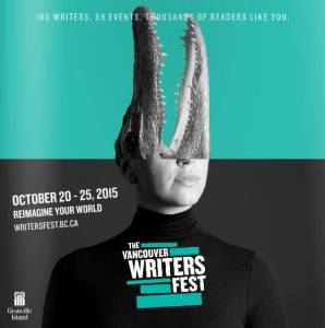 Vancouver Writers Fesrival cover