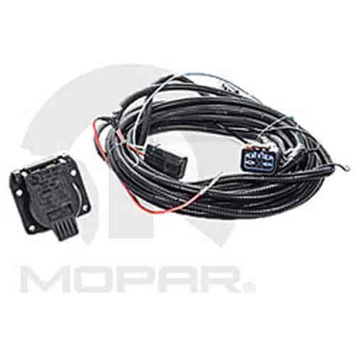 Mopar Accessories 82207253AB Trailer Tow Wiring Harness Kit 2002-08