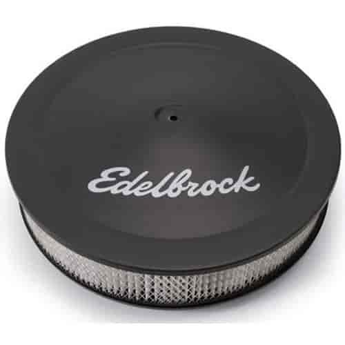 Edelbrock 1223 Pro-Flo Round Air Cleaner 14\