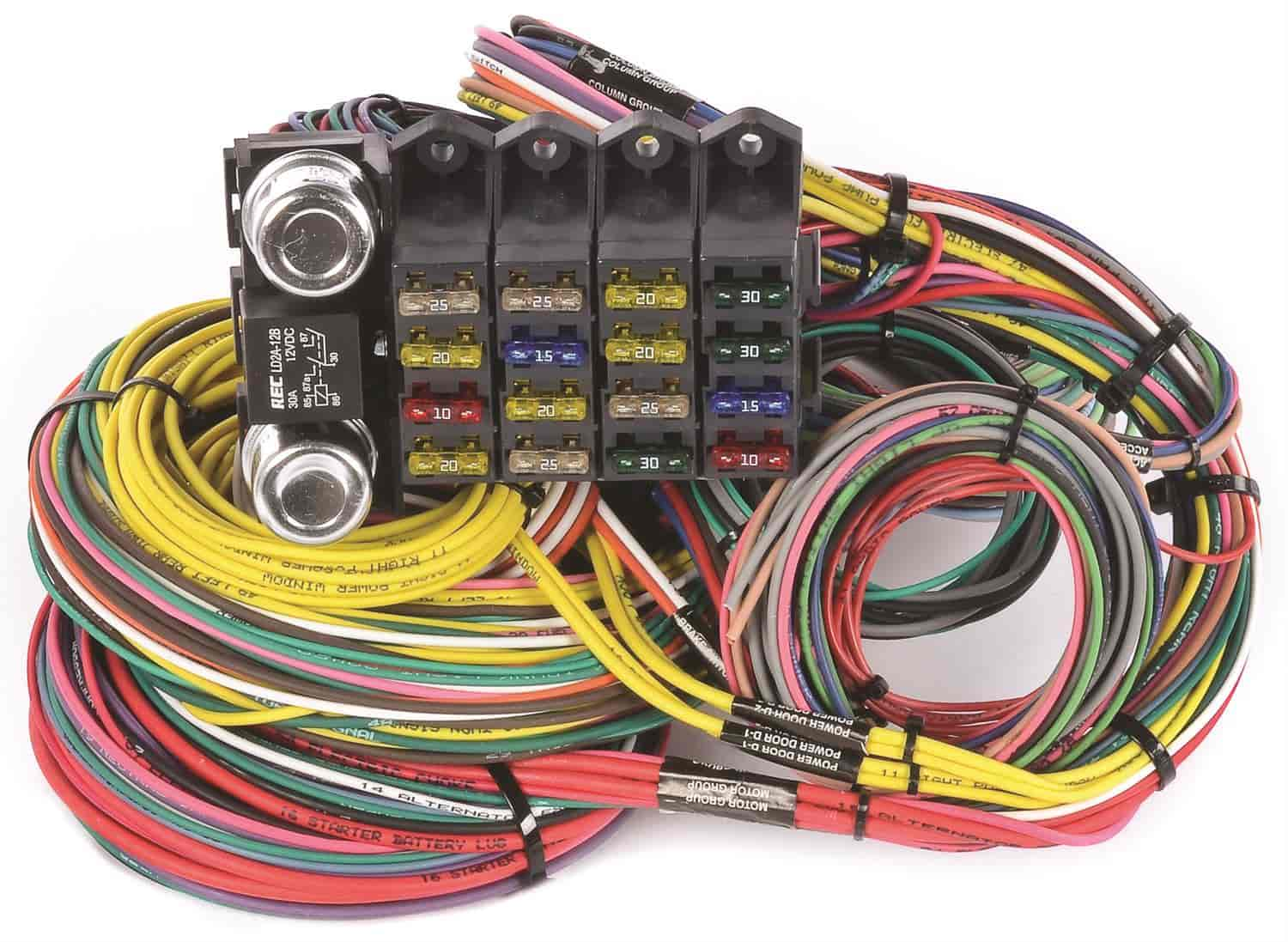 JEGS Performance Products 10405 Universal Wiring Harness, 20