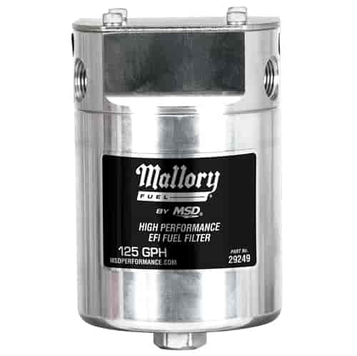 Mallory 29249 Mallory Fuel Filter and Housing EFI JEGS