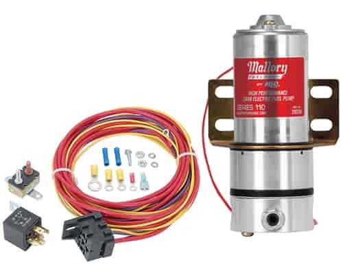Mallory 29256K Fuel Pump  Relay Kit JEGS