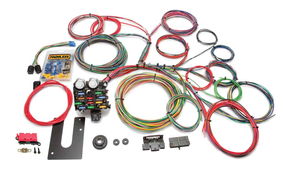 Painless 10102 Universal 21-Circuit Classic Chassis Harness - In