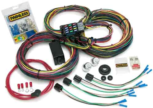 Painless 10127 Customizable 21-Circuit Chassis Harness 1966-76