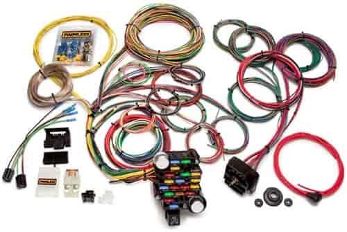 Painless 20104 28-Circuit Classic-Plus Wiring Harness Universal