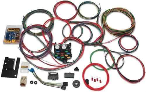 Painless 20107 21-Circuit Classic Chassis Harness 1955-57 Chevy Car