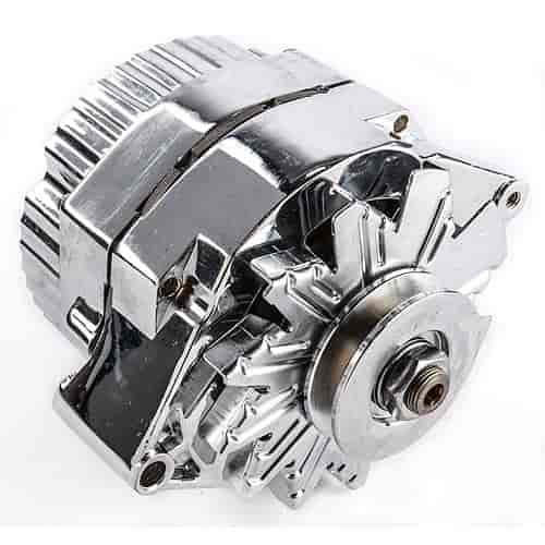 Proform 664451N 1-Wire GM Alternator 100-Amp in Chrome Finish JEGS