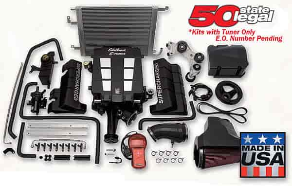 Edelbrock E-Force Supercharger Kits for 57L/61L/64L HEMI JEGS