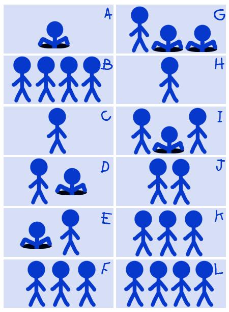 Blue Stickman 5