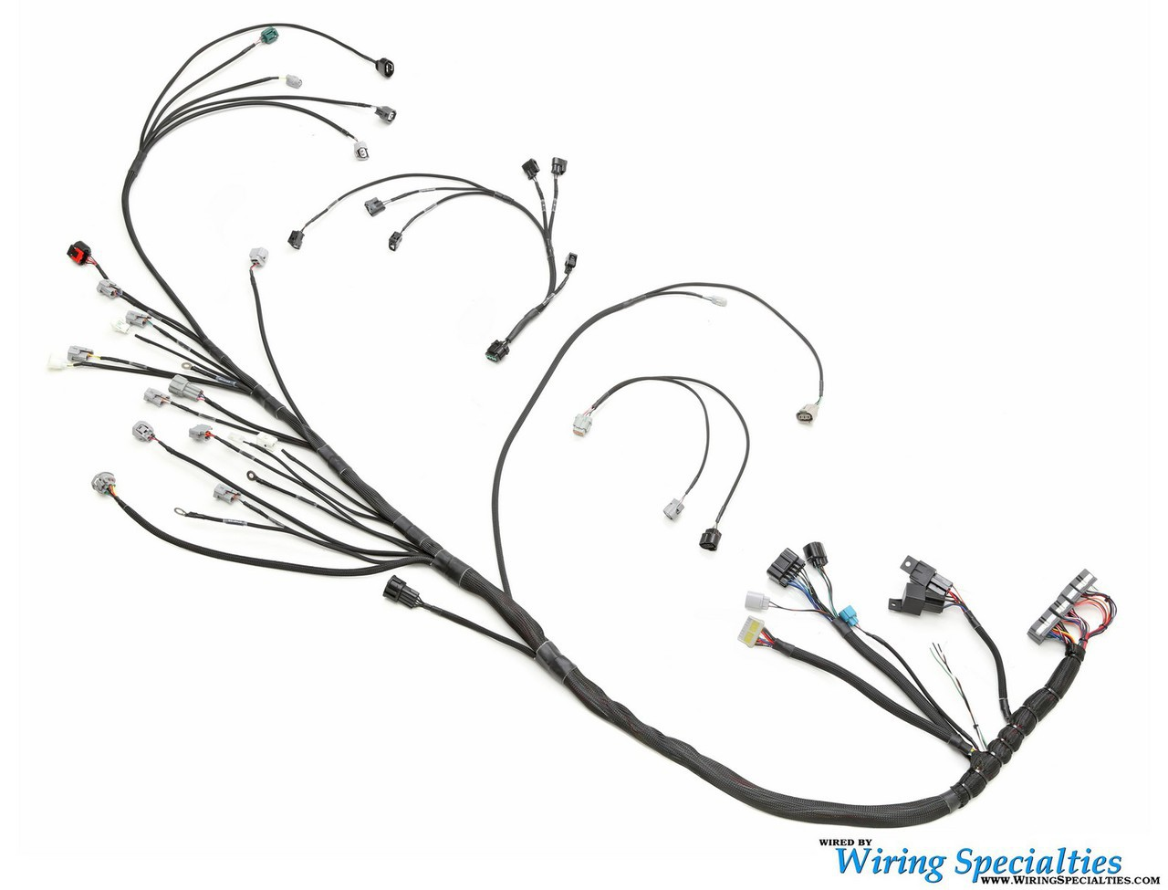 pro comp wiring harness