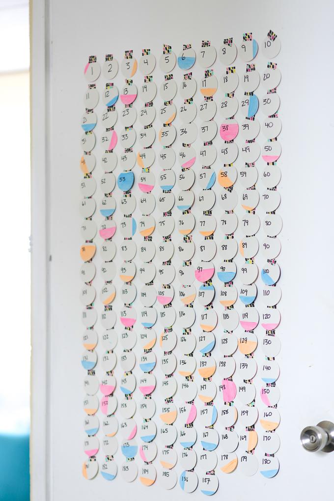 DIY Countdown to Baby Calendar - Jellibean Journals