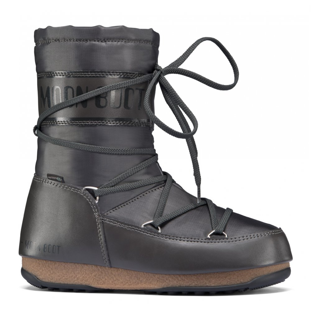 Moonboot Moon Boots Soft Shade Mid Anthracite Waterproof