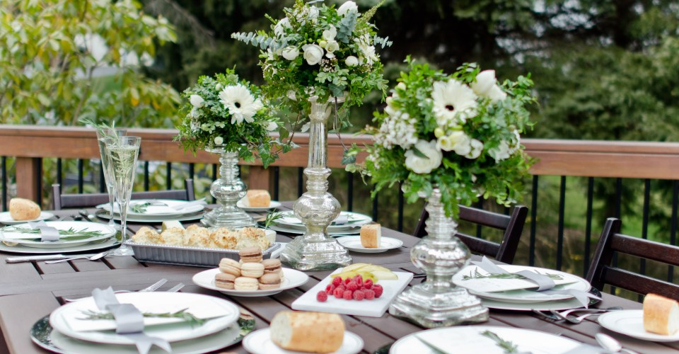 Intimate Spring Brunch