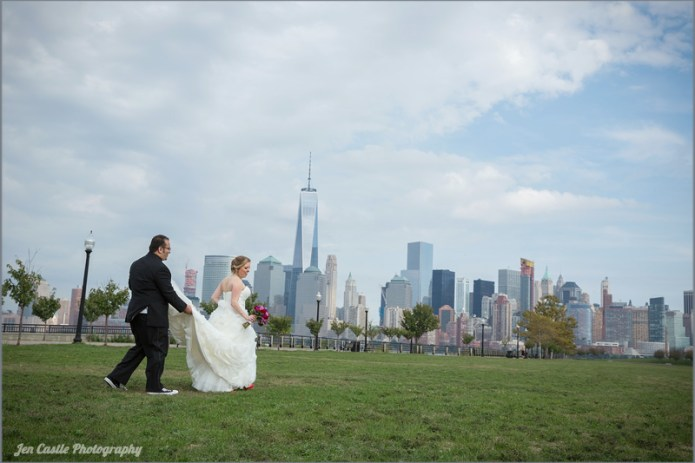 new york, new jersey, jersey city, new york city, wedding photography, photographer, The Liberty House, ©Jen Castle Photography, weddings, wedding portrait