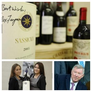 Sir Alex Ferguson plans to auction wine collection