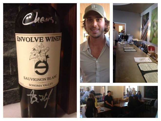 Ben the Winemaker and his Envolve wine