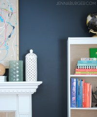 Top Paint Colors for Black Walls + Painting a Black Wall ...