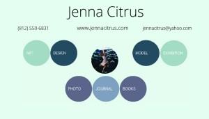 Jenna Citrus contact info business card-01