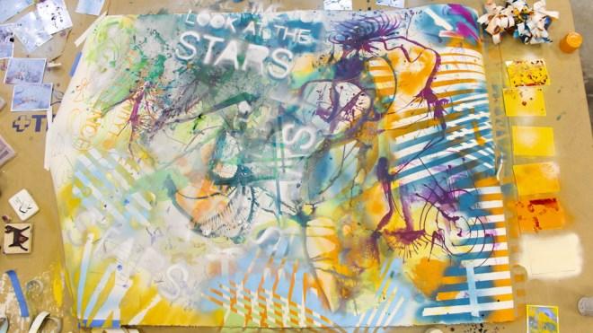 Jenna Citrus Alex Norelli spray paint movement art gasm-2