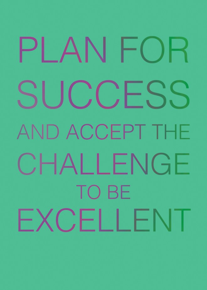 Jenna Citrus ArtPLAN FOR SUCCESS AND ACCEPT THE CHALLENGE TO BE EXCELLENT
