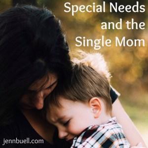 special needs single mom