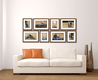 Large Living Room Wall Gallery - Jenn Di Spirito Photography