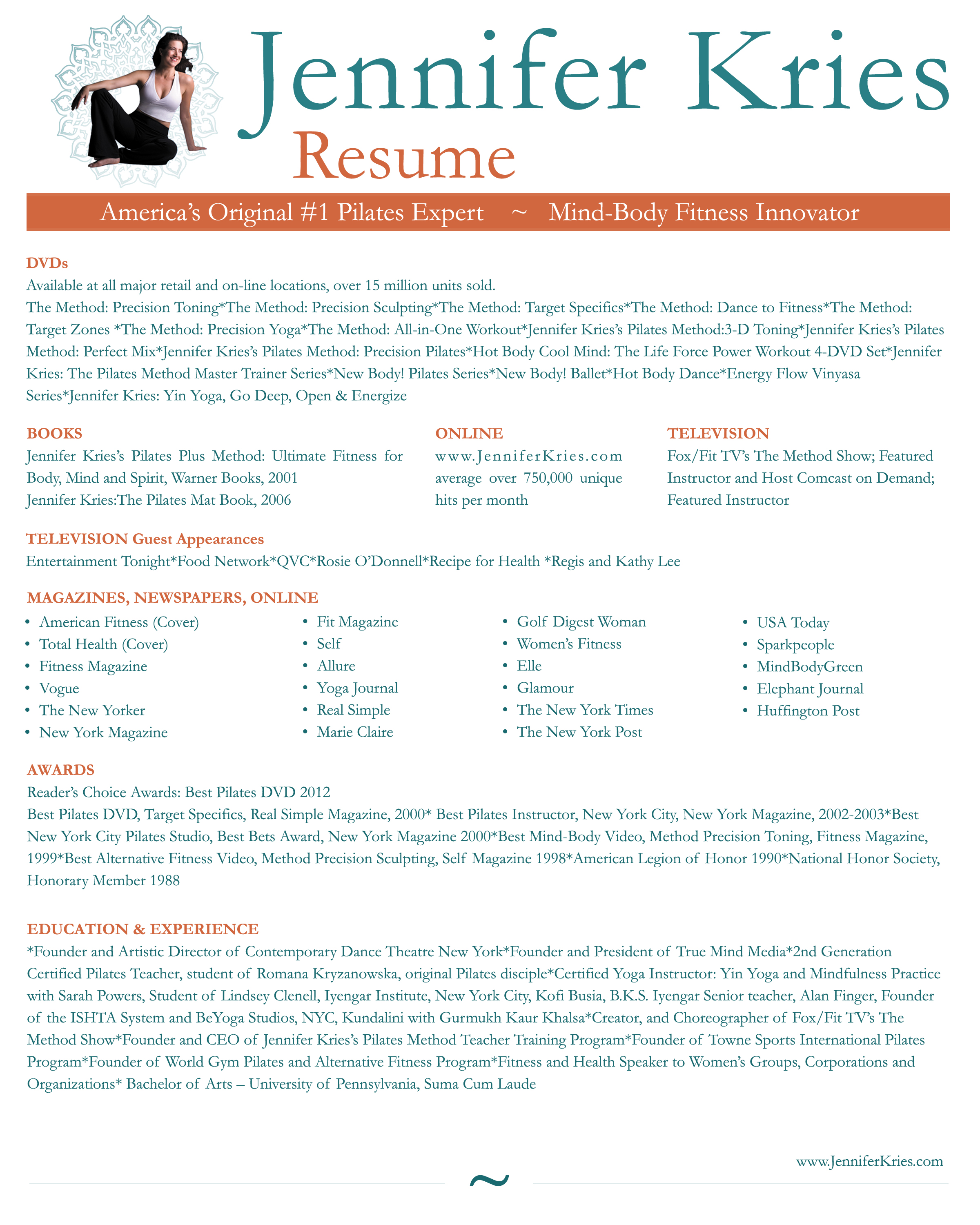teacher resumes samples dance resume sample job and template - Pilates Instructor Resume