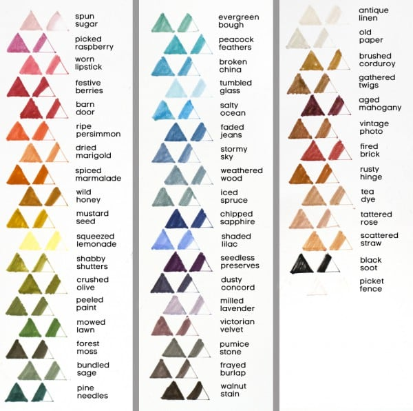 Video + Giveaway + Chart New Distress Markers - Jennifer McGuire Ink