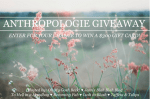 $300 Anthropologie Gift Card