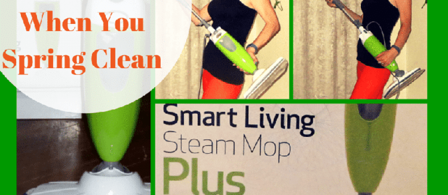 8 Ways To Go Green When You Spring Clean | Smart Living Steam Mop Plus