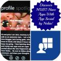 app social by nokia logo and profile image from jennworden #AppSocial