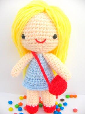 Amigurumi Hello Kitty Crochet Pattern : Free amigurumi pattern little girl Kate