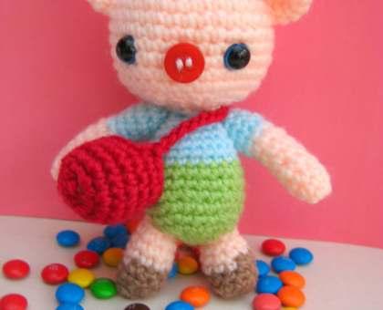 free baby pig amigurumi pattern