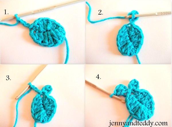 Fishbone Crochet Pattern Free : Crochet fish applique free pattern