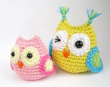 12.owl crochet free patetern amigurumi