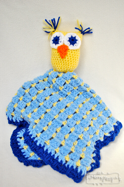 Free Crochet Pattern For Owl Baby Blanket : 20+ Owl free crochet patterns