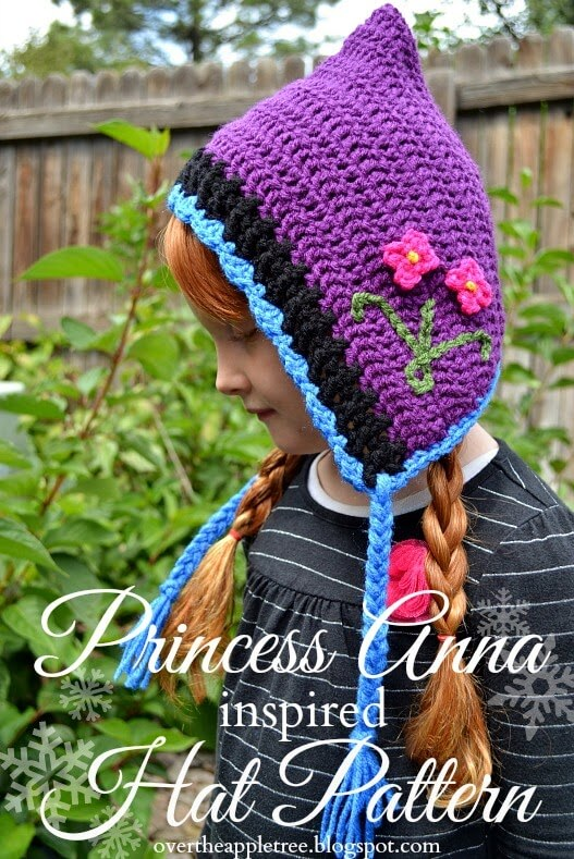 Crochet Pattern Anna Hat : 20+Free crochet frozen inspired patterns