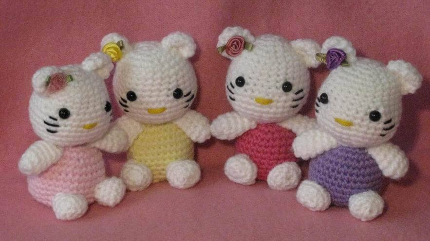 Amigurumi Patterns Sanrio Free : Free hello kitty crochet patterns inspired